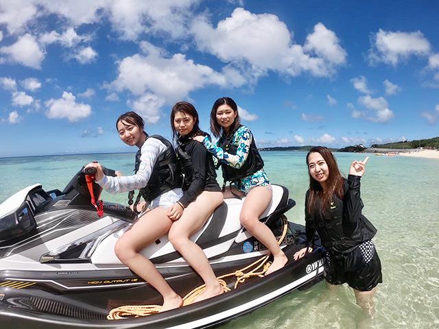 沖縄水納島マリンスポーツ ドラゴンボート