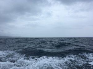 大時化の海