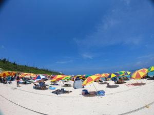 水納島海水浴場