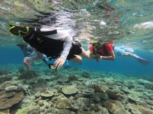 透明度抜群の水納島