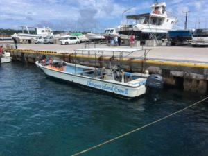 ツアーで使用する船