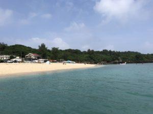 台風明けの瀬底島